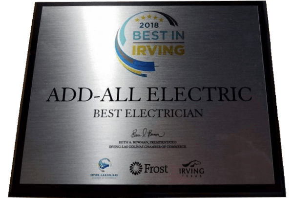 Best Electrician Irving Tx 2018