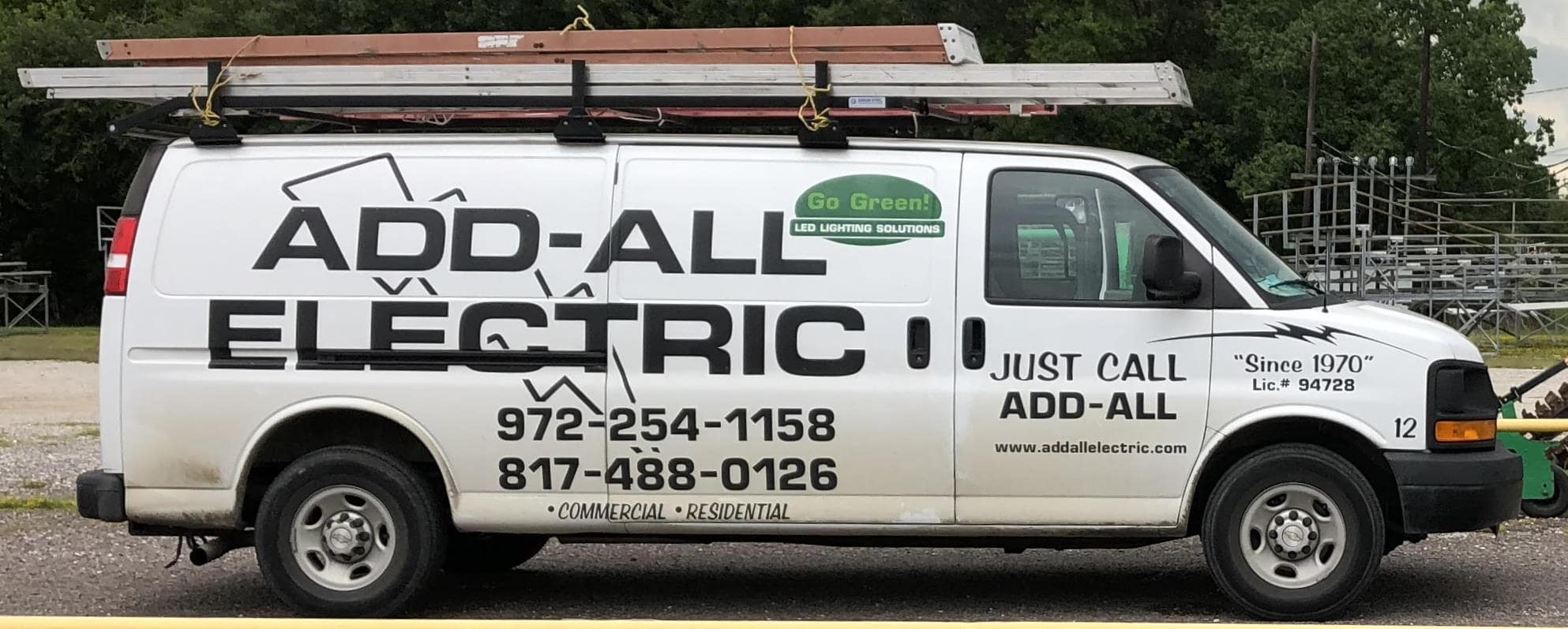 Add-All Electric Service Van