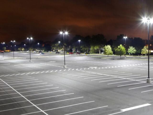 parking lot lights in mckinney tx